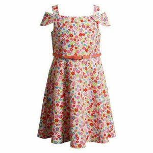 NEW Youngland Girls Dress Floral size-5
